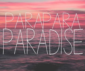 paradise, coldplay, and summer image