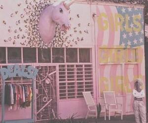 pink, unicorn, and pretty image