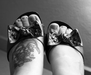 anchor, tattoo, and feet image