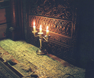 dark and candles image