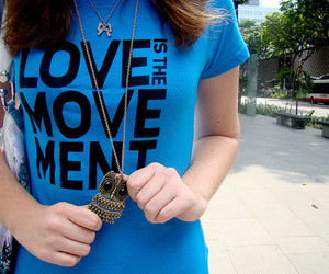 owl, girl, and love is the movement image
