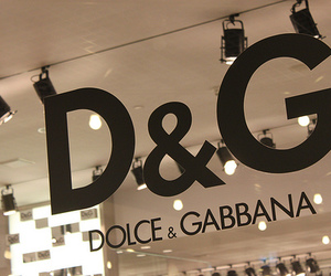 D&G, Dolce & Gabbana, and luxury image