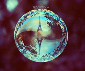 paris and bubble image