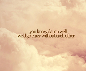 amour, clouds, and quote image