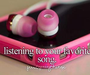 music, pink, and song image