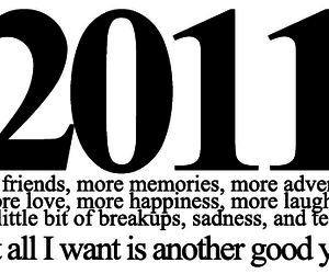 2011 and text image