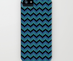 abstract, chevrons, and blue image