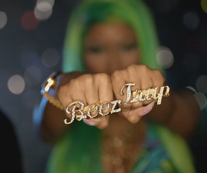 nicki minaj, nicki, and beez in the trap image