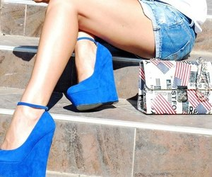 flats, heels, and shoes image