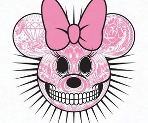 pink, minnie, and minnie mouse image