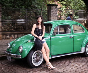 car, fashion, and vintage image
