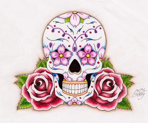 cool, happy skull, and freaking amazing image