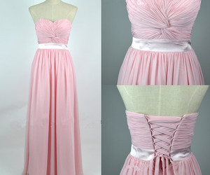 vintage prom dresses, white prom dresses, and pink prom dresses image