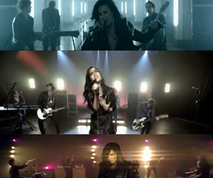demi lovato and heart attack image