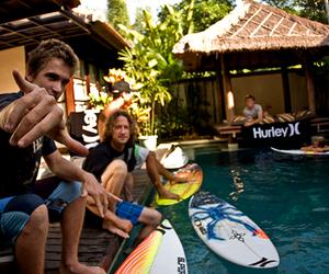 boy, surf, and hurley image