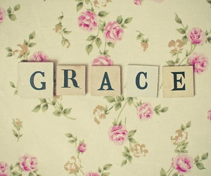 grace, flowers, and god image