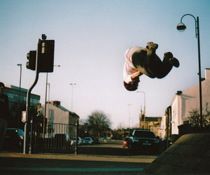photography, boy, and skate image