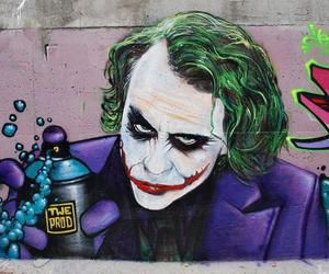 joker, graffiti, and art image