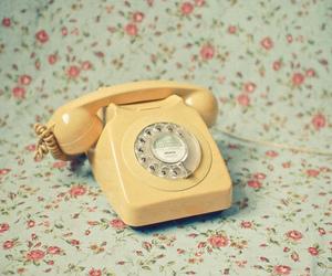 vintage, telephone, and retro image