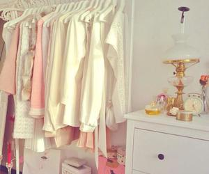 pink, clothes, and white image