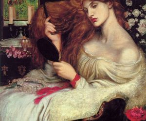 art, painting, and Dante Gabriel Rossetti image