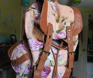 backpack, girl, and cute image