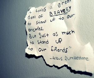 quote and dumbledore image