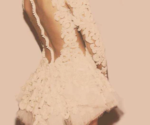 chic, dress, and lace image