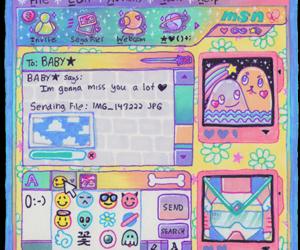 kawaii, chat, and pastel image