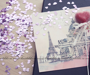 heart, postcard, and romantic image