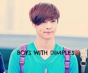 dimples, exo, and lay image