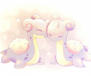 duo, lapras, and kawaii image
