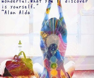quote and yoga image