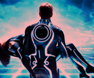tron and couple image
