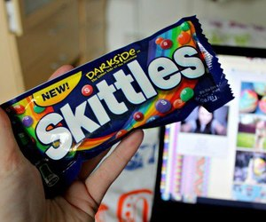skittles, candy, and food image