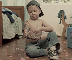 tattoo, boy, and kids image