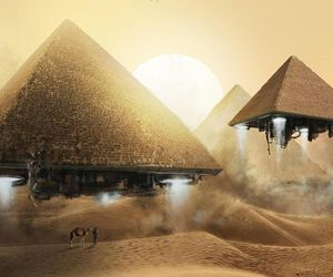 pyramid and egypt image