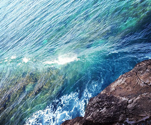 sea, blue, and summer image