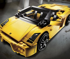Lamborghini and lego image
