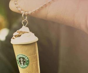 starbucks, coffee, and necklace image