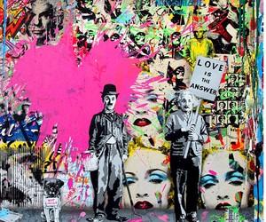 charles chaplin and Marilyn Monroe image