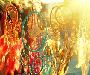 beautiful, Dream, and dream catcher image