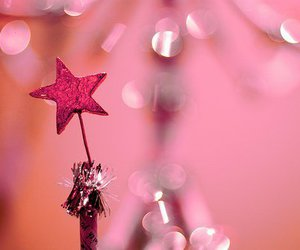 pink, star, and glitter image