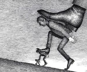 art, boy, and Ilustration image
