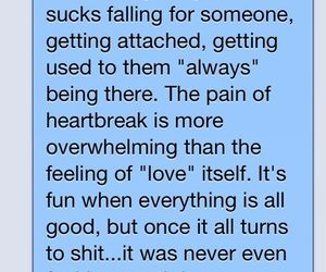 love, text, and heartbreak image