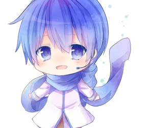 chibi, vocaloid, and kaito image