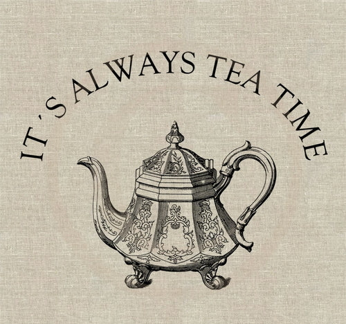 Its Time For Tea Via Tumblr On We Heart It