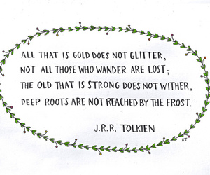 quote, life, and tolkien image