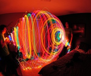 light, colors, and cool image