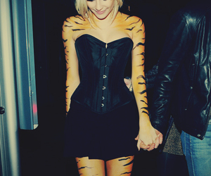 tiger, pixie lott, and Halloween image
